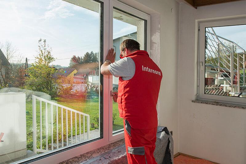 Wymiana okna w bloku na mniejsze